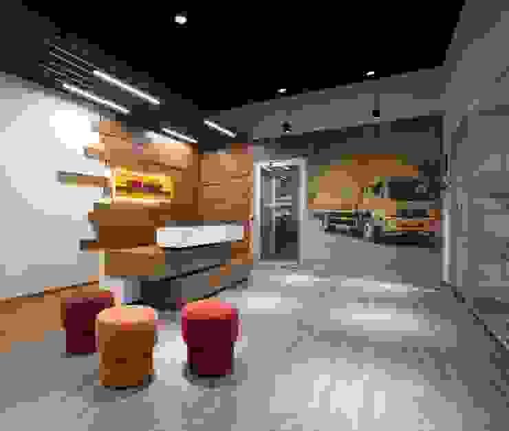 Apex Project Solutions Pvt. Ltd. Moderne Bürogebäude MDF Holznachbildung
