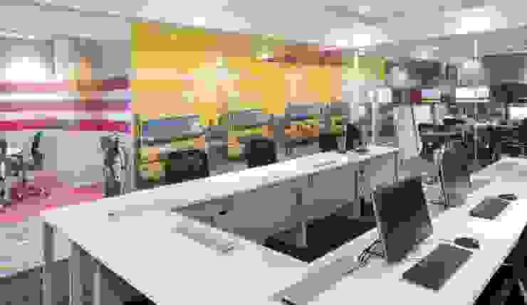 Apex Project Solutions Pvt. Ltd. Moderne Kongresscenter Sperrholz Weiß