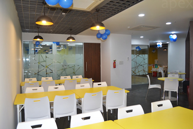 Cafeteria by Apex Project Solutions Pvt. Ltd. Modern Plastic
