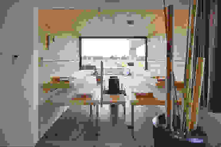 Architekturbüro zwo P Saunas Madera Beige