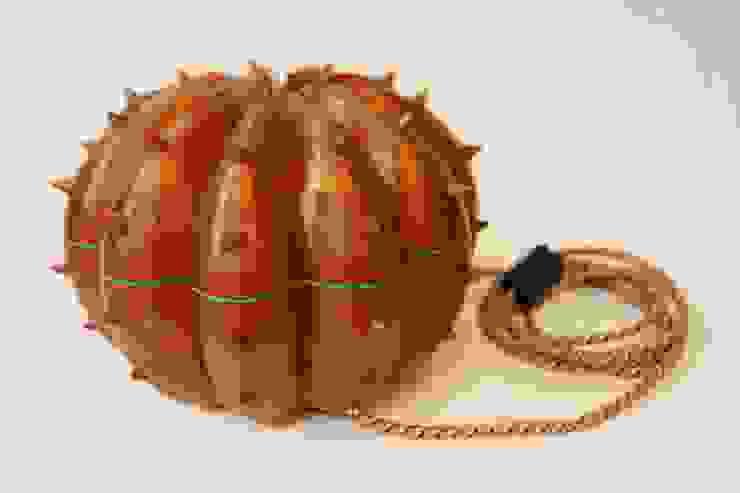 Desert Light modello Echinocactus Caramel di SeFa Design by nature Eclettico Fibre naturali Beige