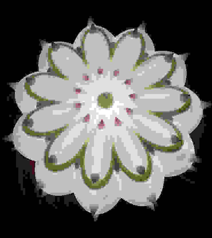 Echinocactus Latte&menta, misura M di SeFa Design by nature Eclettico Fibre naturali Beige