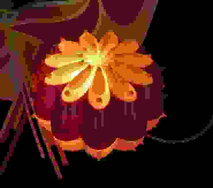 Desert Light modello Echinocactus Moira di SeFa Design by nature Eclettico Fibre naturali Beige