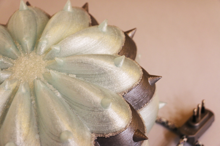 Desert Light modello Echinocactus Frozen di SeFa Design by nature Eclettico Fibre naturali Beige