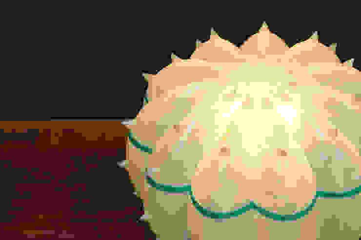 Desert Light modello Echinocactus Cloud di SeFa Design by nature Eclettico Fibre naturali Beige