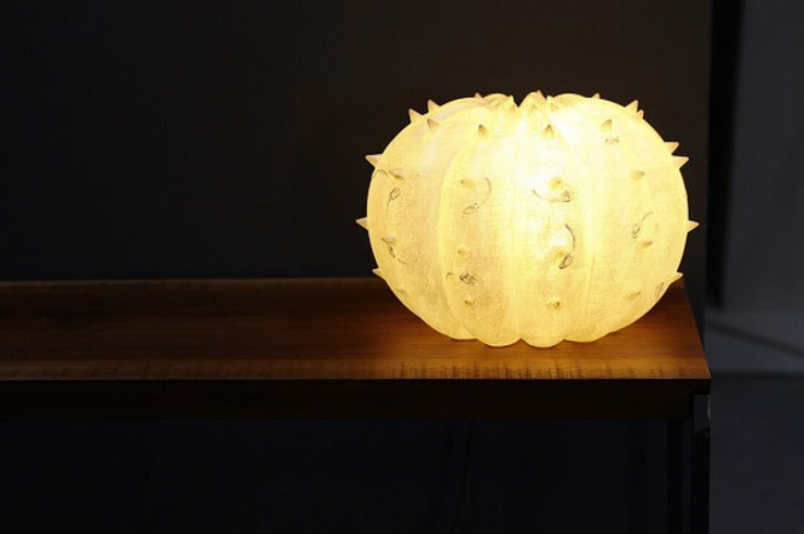 Lui&Lei, Echinocactus di SeFa Design by nature Eclettico Fibre naturali Beige