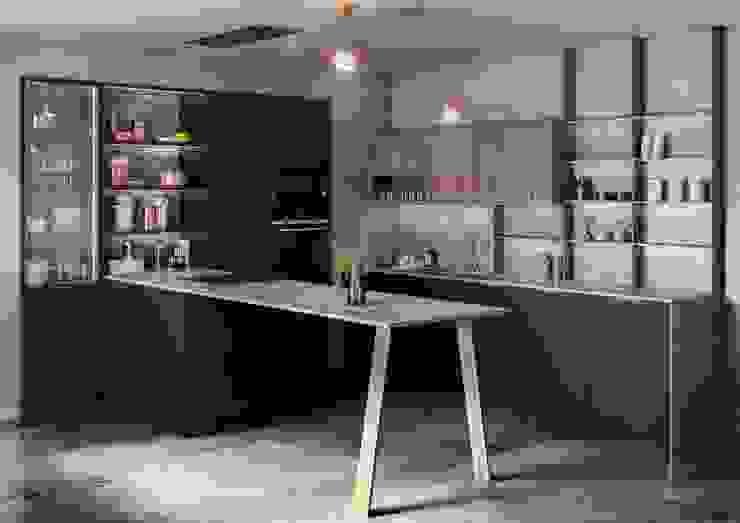 Tmatt Nero de TPC Instalación de cocinas en Parets del Vallès Moderno