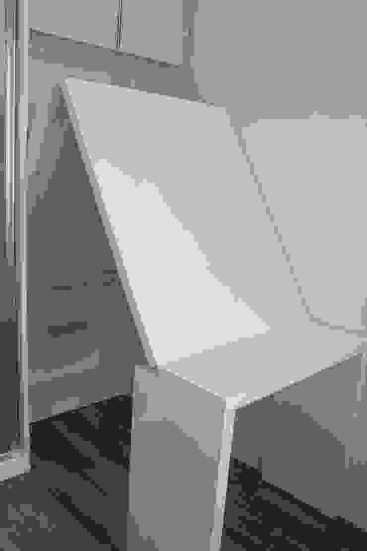 Apartemen Landmark II – Tipe 2 Bedroom (Design I) Oleh POWL Studio Minimalis
