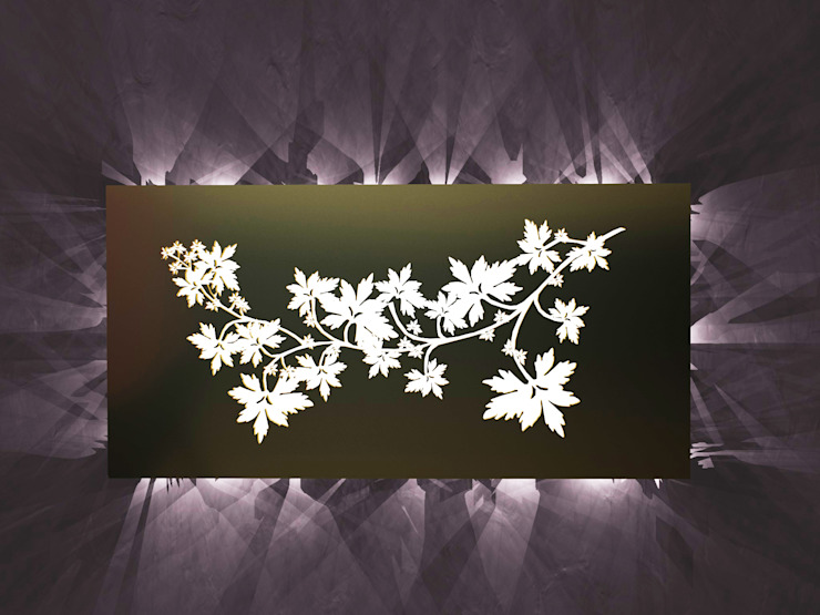 Chinese Shadows di SeFa Design by nature Eclettico Rame / Bronzo / Ottone