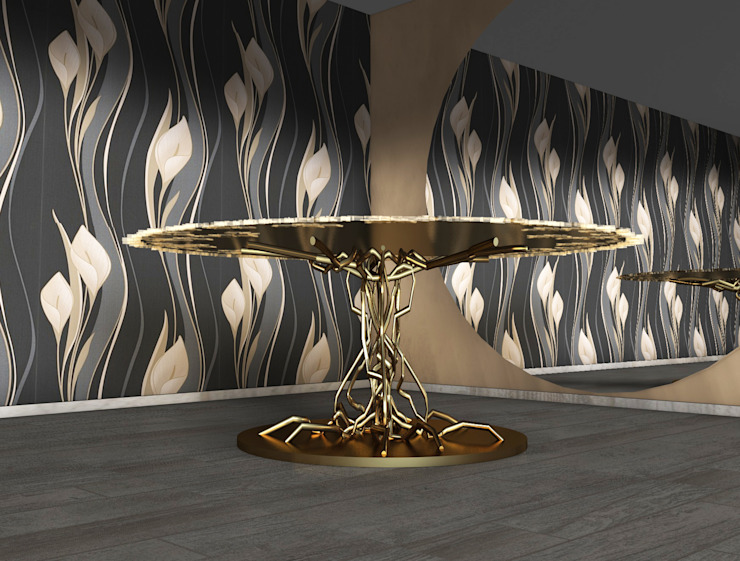 Bonsai table di SeFa Design by nature Eclettico Rame / Bronzo / Ottone