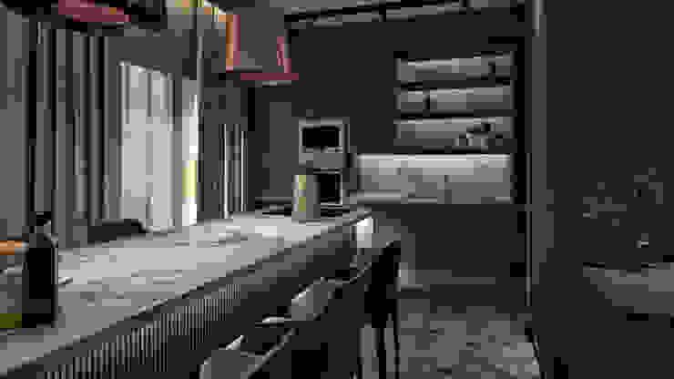 Kitchen Modern kitchen by The Superstudio Modern