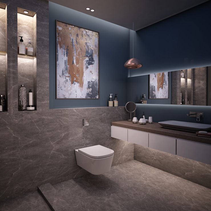 Master Bathroom Modern Bathroom by The Superstudio Modern