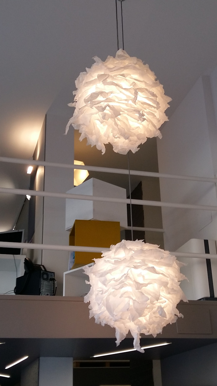 Light Flowers paralume singolo di SeFa Design by nature Eclettico Carta