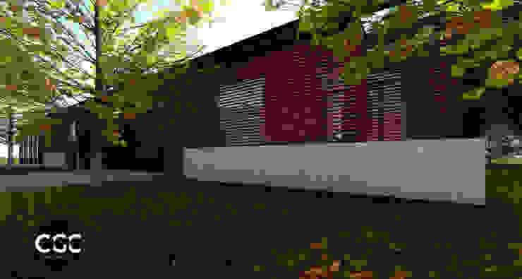 Casa 443 Casas modernas: Ideas, imágenes y decoración de Arquitectos CGC Moderno