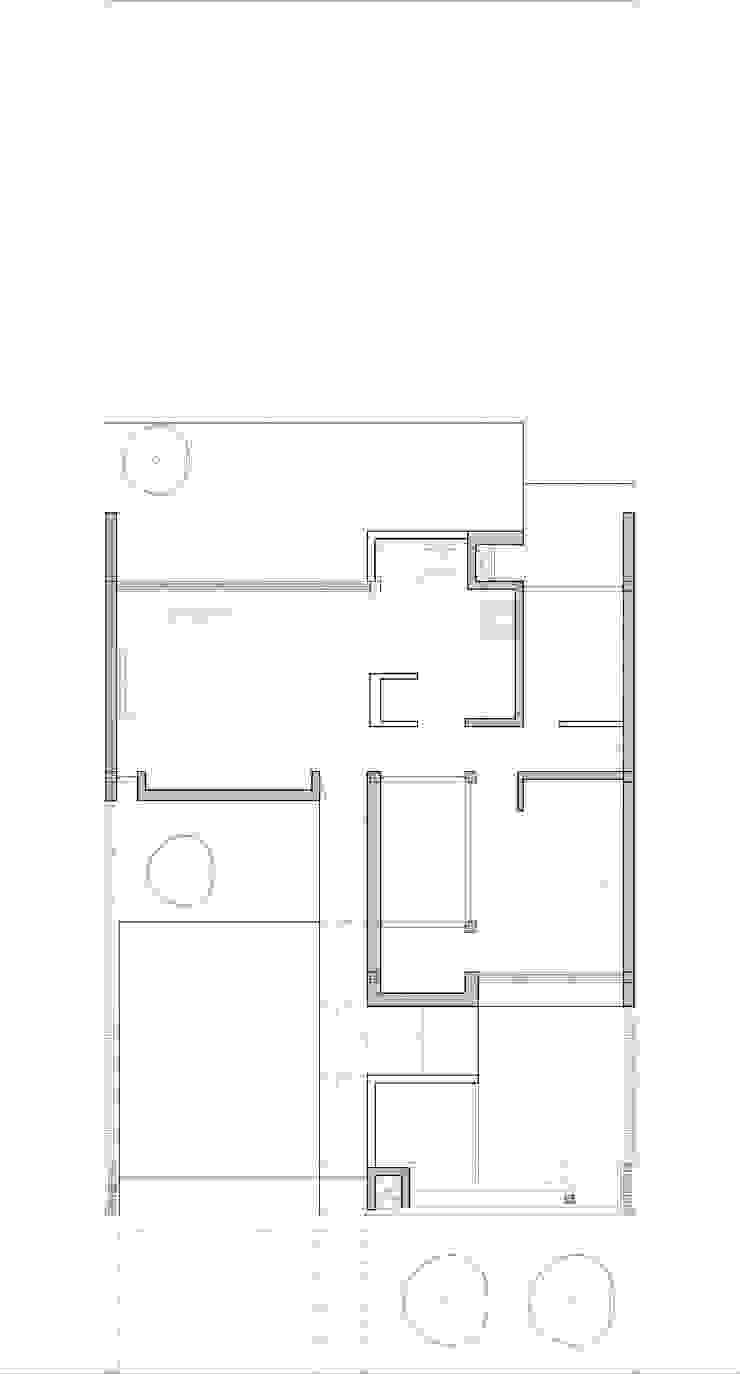 Casa 443 de Arquitectos CGC Moderno