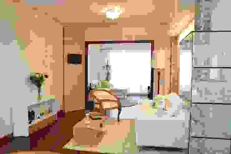 Phòng khách theo Arquimundo 3g - Diseño de Interiores - Ciudad de Buenos Aires,