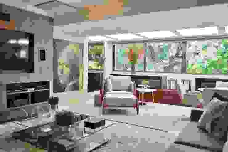 Livings de estilo  por BG arquitetura | Projetos Comerciais , Moderno