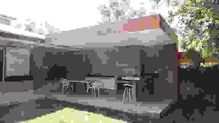 Quincho Lo Matta, 30m2, Vitacura m2 estudio arquitectos - Santiago Terrazas Concreto reforzado