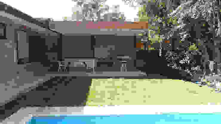 Quincho Lo Matta, 30m2, Vitacura de m2 estudio arquitectos - Santiago Minimalista Madera Acabado en madera