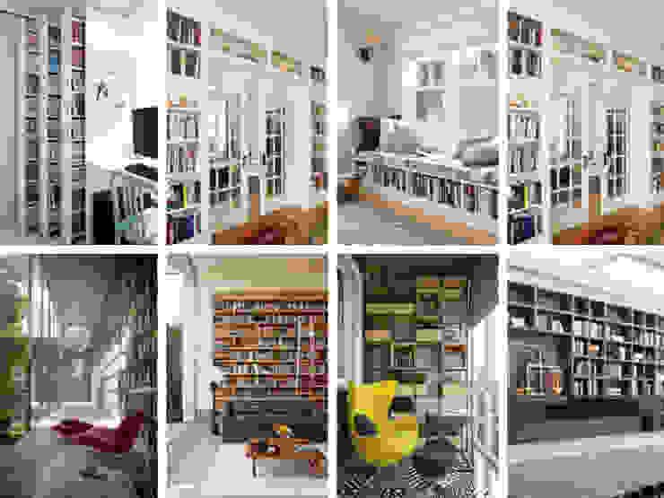 Những ý tưởng thiết kế phòng đọc sách cho nhà phố 2019 bởi Công ty Thiết Kế Xây Dựng Song Phát Hiện đại