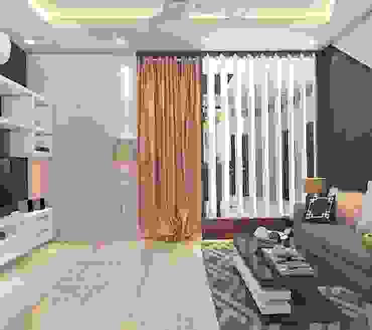 Dressing Room Minimalist dressing room by Best Luxury Interiors Minimalist Concrete