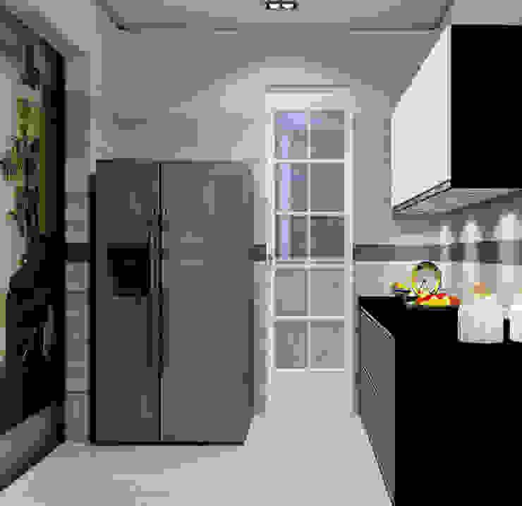 Cocinas equipadas de estilo  por The Cobblestone Studio