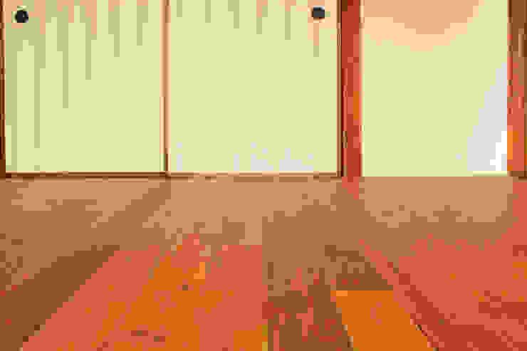 松戸の家2(無垢な賃貸) 大畠稜司建築設計事務所 フローリング 無垢材 木目調