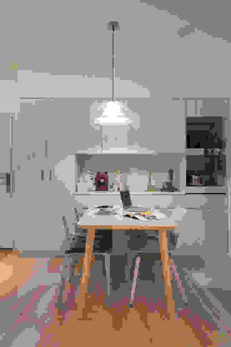 關渡S residence 根據 耀昀創意設計有限公司/Alfonso Ideas 北歐風