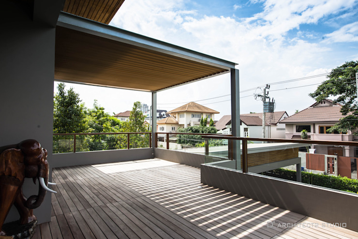 LINEAGE HOUSES โดย D' Architects Studio โมเดิร์น