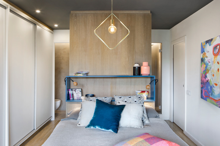 Eclectic style bedroom by Egue y Seta Eclectic