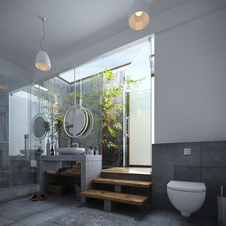 - Modern bathroom by Studio Gritt Modern