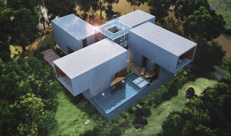 Case moderne di Studio Gritt Moderno