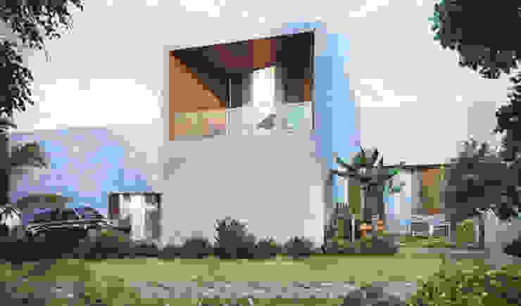 Moderne Häuser von Studio Gritt Modern