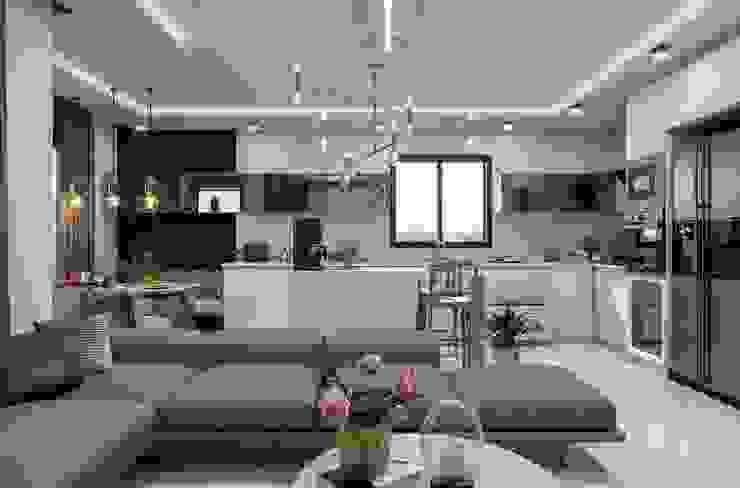 Camlar Modern Oturma Odası ANTE MİMARLIK Modern