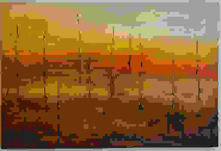 сучасний  by Atelier de Pintura Anette Schnaider, Сучасний
