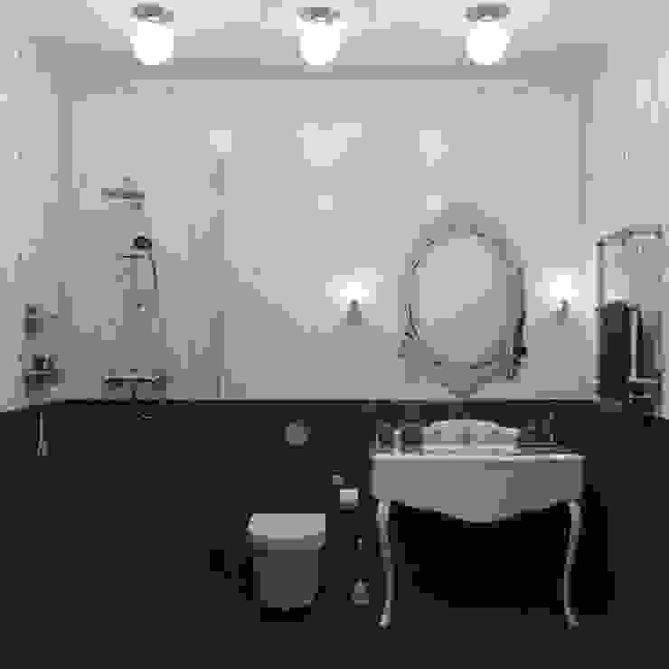 «New Retro» Ванная в средиземноморском стиле от Wide Design Group Средиземноморский