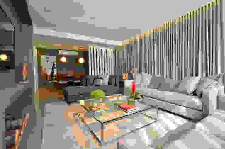 Salas de estilo moderno de BG arquitetura | Projetos Comerciais Moderno
