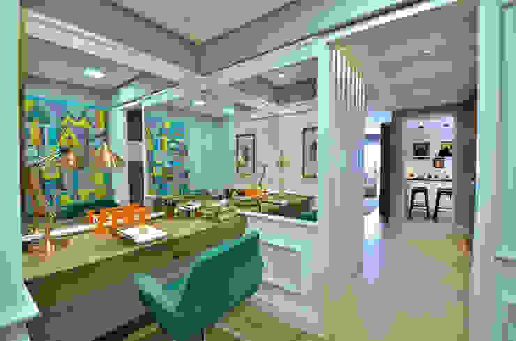 Apartamento Modelo Elegante BG arquitetura | Projetos Comerciais Escritórios modernos