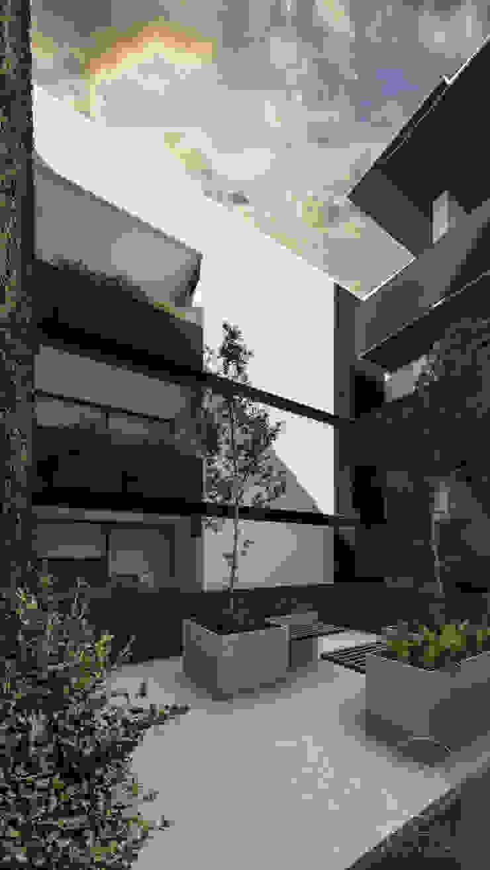 Modern terrace by WERHAUS ARQUITECTOS Modern