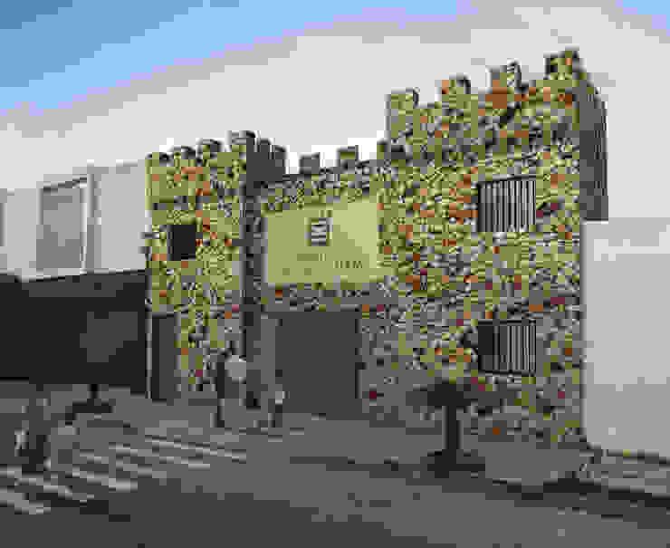FACHADA PRINCIPAL Casas modernas de WERHAUS ARQUITECTOS Moderno