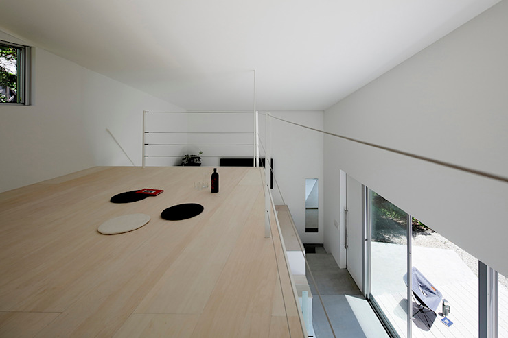 Minimalist bedroom by 稲山貴則 建築設計事務所 Minimalist Plywood