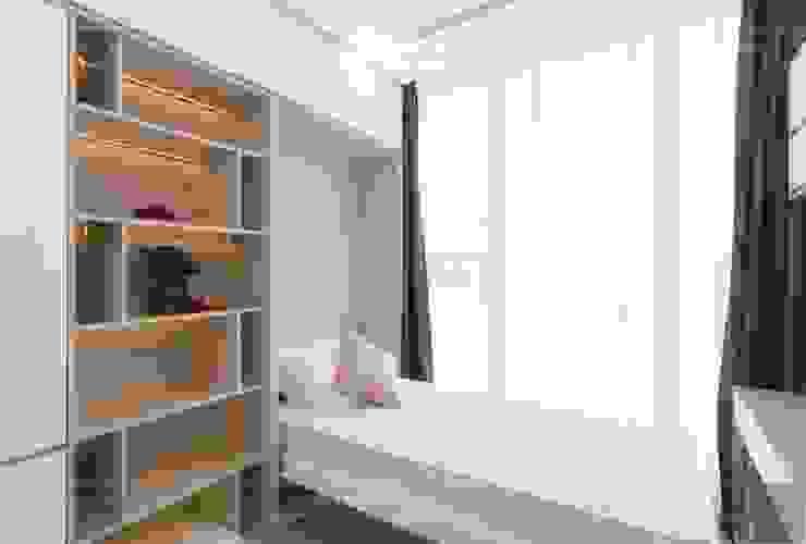 Thi công nội thất phong cách hiện đại trong căn hộ Vinhomes Golden River Phòng ngủ phong cách hiện đại bởi ICON INTERIOR Hiện đại