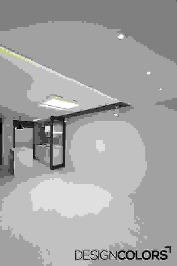 강서구 가양동 가양6단지 아파트 인테리어 22평 모던스타일 거실 by DESIGNCOLORS 모던