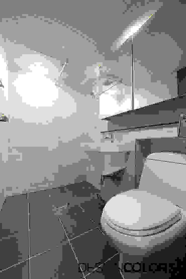 강서구 가양동 가양6단지 아파트 인테리어 22평 모던스타일 욕실 by DESIGNCOLORS 모던