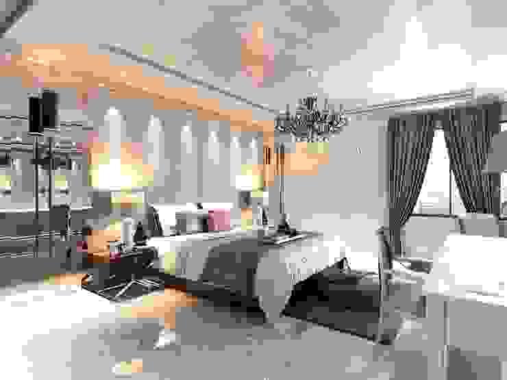 Ferah bir yatak odası Modern Yatak Odası ANTE MİMARLIK Modern