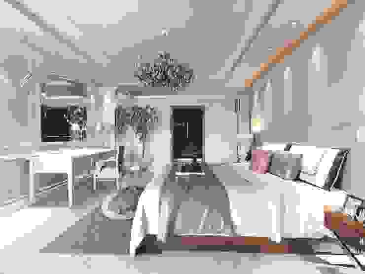 Avizeler Modern Yatak Odası ANTE MİMARLIK Modern
