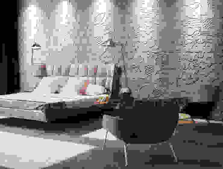 Loft Design System Deutschland - Wandpaneele aus Bayern Modern style bedroom Concrete Grey
