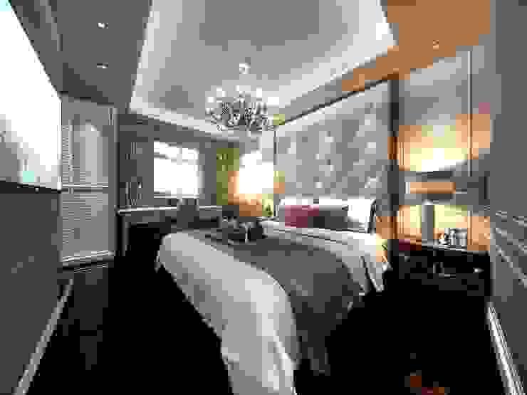 Yatak başlığı Modern Yatak Odası ANTE MİMARLIK Modern