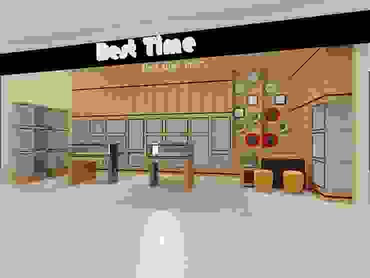 Interior Toko Best Time - Sadira Plaza - Pekanbaru Oleh RF Arch & Design