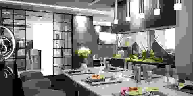 Yemek odası Modern Oturma Odası ANTE MİMARLIK Modern